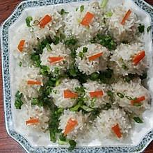 蒸糯米裹肉丸
