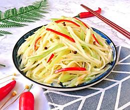 #快手又营养,我家的冬日必备菜品#尖椒土豆丝的做法