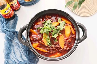 冬季进补❗️红焖羊肉山药煲❤️绝对下饭