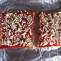 吐司披萨的做法图解3