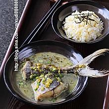 雪菜馬鮫魚