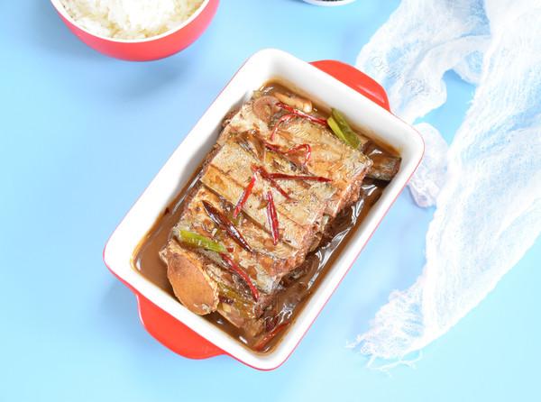 蚝油柚香带鱼的做法