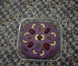 香甜可口,紫薯糕。的做法
