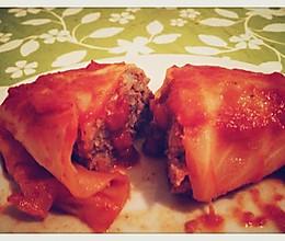 意式卷心菜肉卷的做法