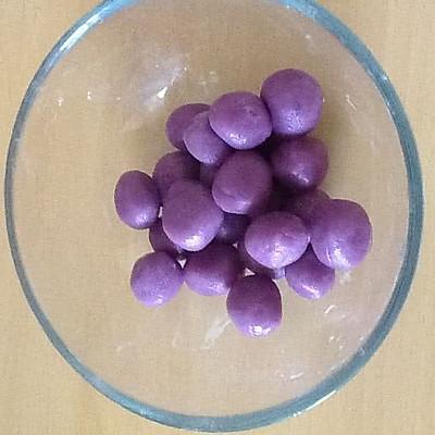 紫薯糯米小丸子