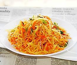 #橄榄中国味 感恩添美味# 炒土豆丝的做法