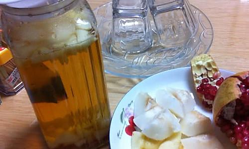 秋日特饮水果茶的做法
