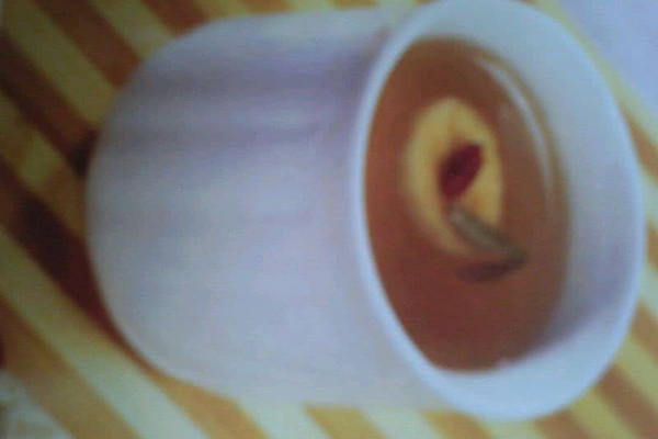 香蕉龙井茶的做法