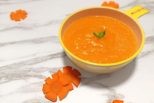 香瓜胡萝卜果蔬泥的做法