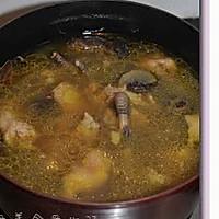 花菇炖鸡汤的做法图解8