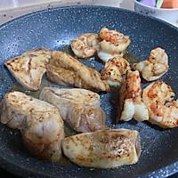 重口味轻脂鸡胸肉意面的做法图解4