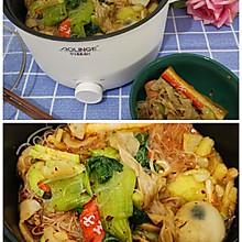 奥林格单人电火锅做美味冒菜