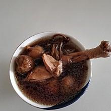 茶树菇无花果煲鸡汤(高压锅版)