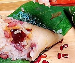 红豆红枣蜜粽的做法