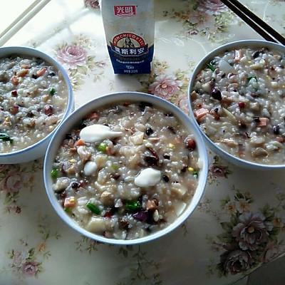 酸奶什锦粥(废物利用)的做法 步骤9