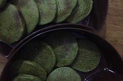 抹茶饼干(微波炉)