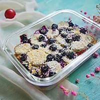 蓝莓香蕉烤燕麦的做法图解7