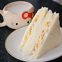 低脂美味营养早餐 金枪鱼三明治的做法图解6