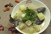 冬瓜薏米鲫鱼汤的做法