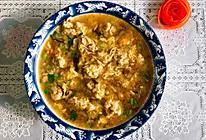 鸡肉萝卜丸子汤的做法