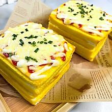 #助力高考营养餐# 黄金三明治,简单快手的营养早餐