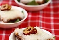 豆沙糯米凉糕的做法