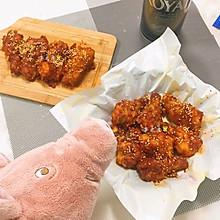 #换着花样吃早餐#超好吃的韩式炸鸡