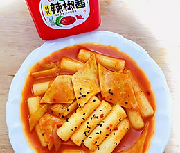 正宗韩式辣炒年糕的做法