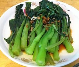豉汁菜芯(粤菜)的做法
