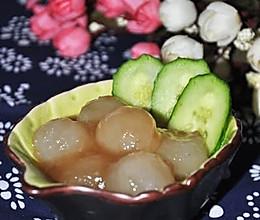 蚝油冬瓜球的做法