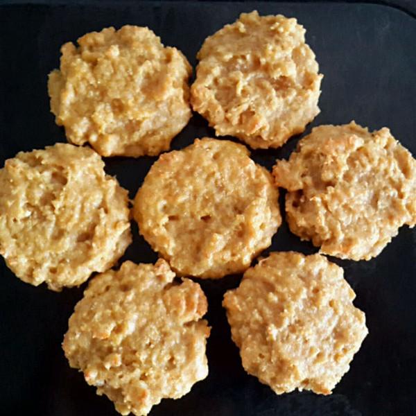 燕麦饼干(无油无糖无面粉 电饼铛版)