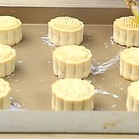 豆沙/蛋黄豆沙月饼~超详细步骤的做法图解13
