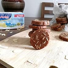 巧克力杏仁饼干#安佳儿童创意料理#