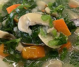 山药蔬菜汤的做法