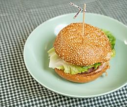 腊肉汉堡(腊宝宝)的做法
