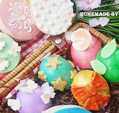快乐复活节系列—彩蛋蛋糕与巧克力饼