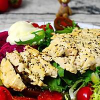 香煎鸡胸肉拌蔬果沙拉的做法图解13