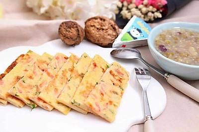 番茄鸡蛋饼 宝宝健康食谱