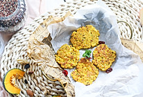 宝宝点心系列——苹果南瓜藜麦鸡蛋饼的做法