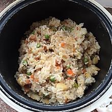 电饭煲版—豌豆猪肉焖饭