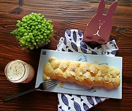 淡奶油辫子面包的做法