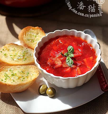 瘦身版红菜汤的做法
