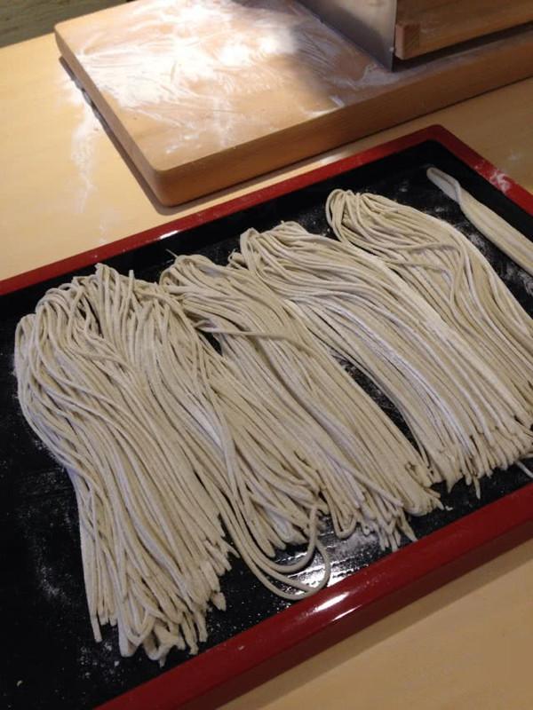 手工 荞麦面的做法