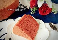 红曲戚风蛋糕的做法