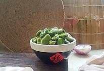 葱油蚕豆的做法