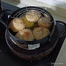 芝麻香芋饼