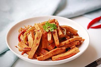 鱼香千叶豆腐条|懒人福音&下饭利器
