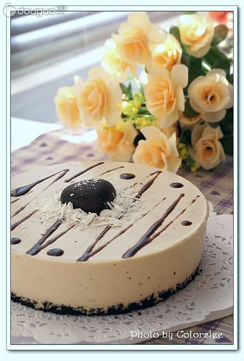 摩卡巧克力冻芝士的做法