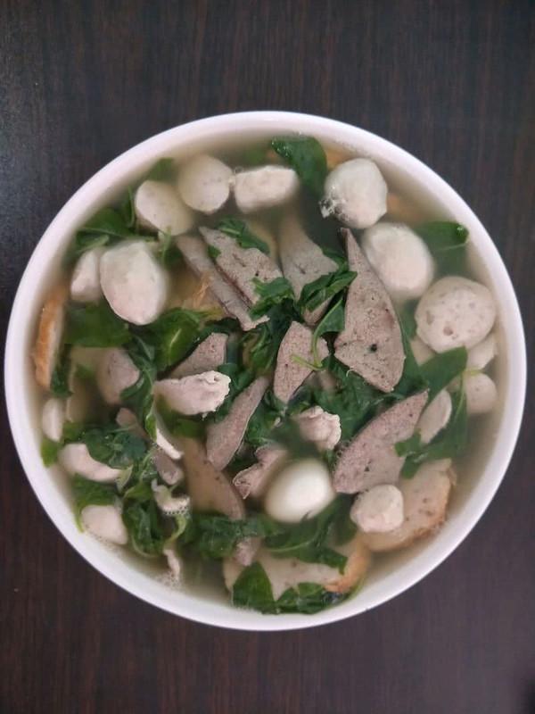 猪杂汤~超多料的做法