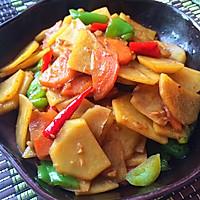 鲜香土豆片的做法图解9
